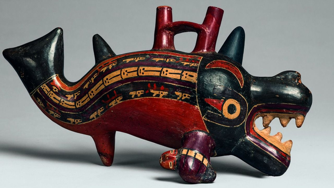cultura nazca: ceramica