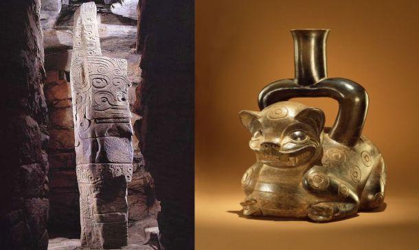 ejemplos de arte chavín