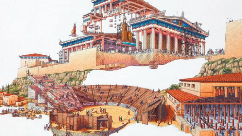 Cultura Griega, la base de la cultura occidental tal y como la conocemos