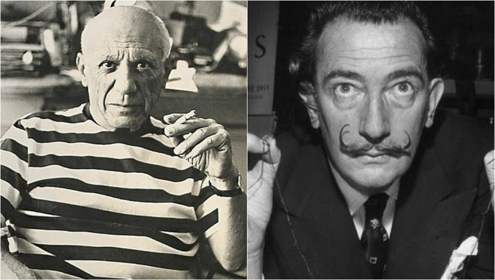 dalí y picasso