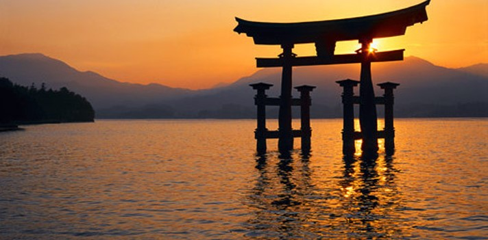 cultura japonesa: monumento religioso