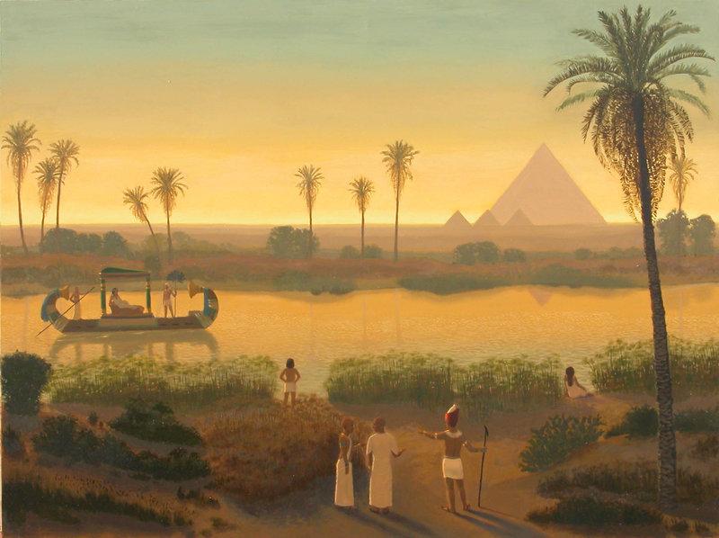 egipto: rio nilo