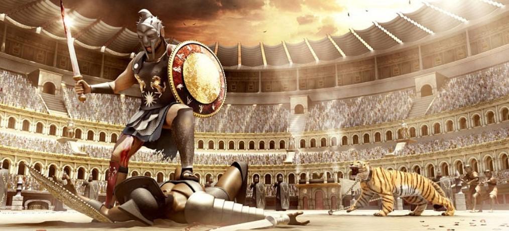 Imperio romano: gladiadores