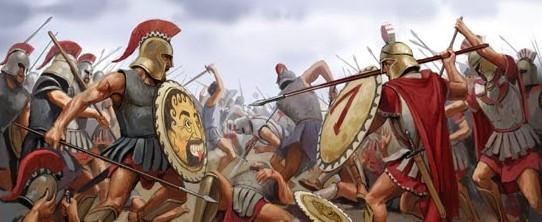 batalla del peloponeso