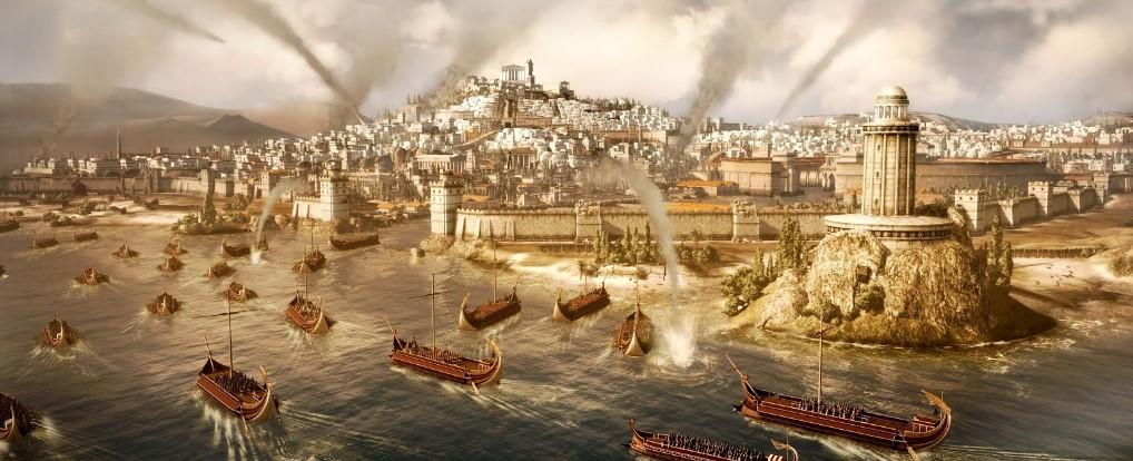 Imperio romano: puerto