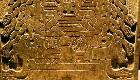 piedra tallada cultura chavín