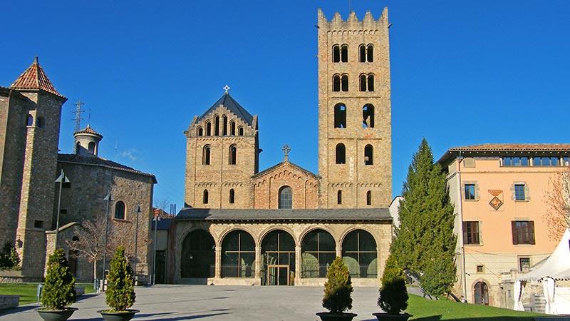 abadía de Santa María de Ripoll en Cataluña