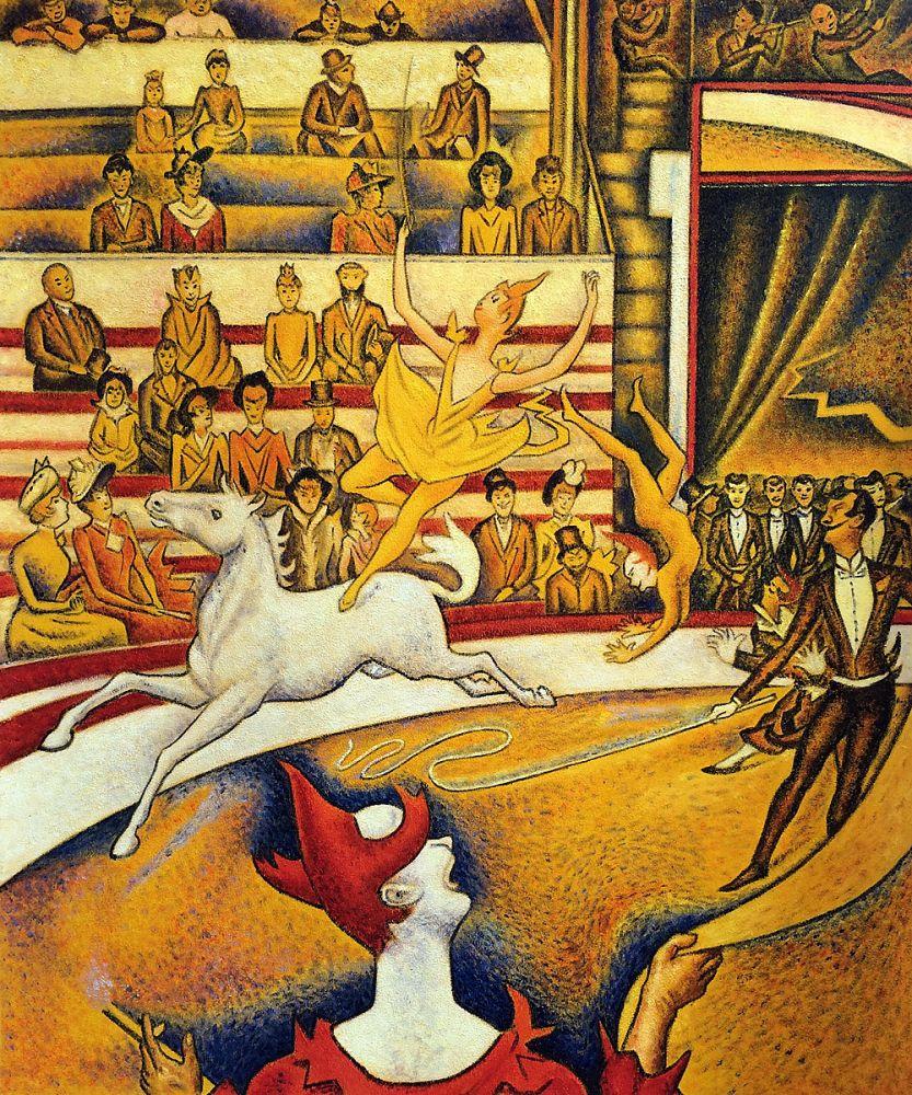 El circo de Georges Seurat